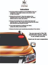How To Get A Congregation B Nai Israel Car Decal For Parking