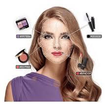 virtual makeup magic mirror tryon for