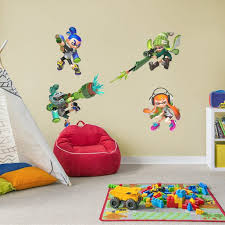 Fathead Splatoon Collection X Large Officially Licensed Nintendo Removable Wall Decals Walmart Com Walmart Com