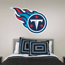 Tennessee Titans Nfl Wall Decal Sport Logo Nfl Vinyl Home Decor Room