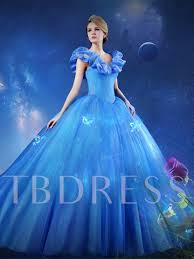 cap sleeves erfly ball gown