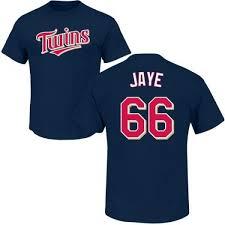 Myles Jaye Minnesota Twins Men's Navy Roster Name & Number T-Shirt -