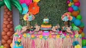 Fiesta Hawaiana Todo Para Organizar Y Decorar Este Cumpleanos