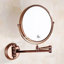 double sided rose gold wall mount