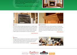 advantage fireplace onpoint web design