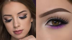 smokey eyes with a pop of color you