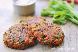 baked salmon patties keto and gluten