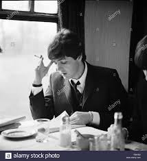 A Hard Day's Night Year : 1964 UK Director : Richard Lester Paul McCartney  Stock Photo - Alamy
