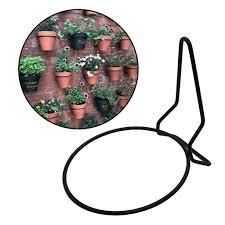 Bolehdeals Plant Container Holder Hanger Ring Flower Pot Holder Fence Wall Decoration Lazada Ph