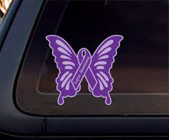 Lupus Awareness Butterfly 5x5decalstickercar Window Decal Etsy