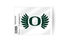 Oregon Ducks Wings Logo Static Cling Sticker Window Or Car Ncaa Groupon