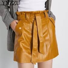 women mini skirt 2019 autumn winter