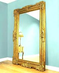 wall mirrors metal frame wall mirror