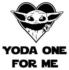 Diy Child Yoda Vinyl Decal Cartoon Character Tablet Decal Etsy