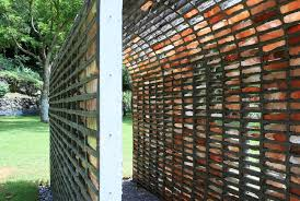 This Brick Arch Installation Dissolves In The Rain To Leave A Mortar Skeleton Archdaily