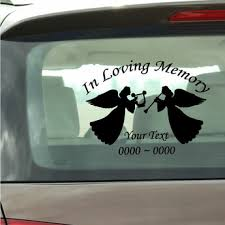 In Loving Memory Decals