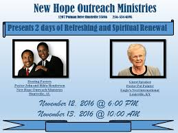 Pastor John and Hilda Henderson... - New Hope Outreach Ministries Inc. |  Facebook