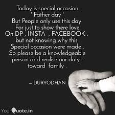 today is special occasion quotes writings by rajabhishek