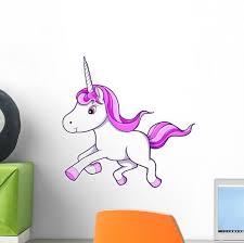Cute Little Baby Unicorn Wall Decal Wallmonkeys Com