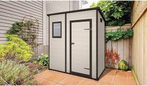 keter manor plastic garden shed 6 x