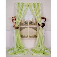 Curtain Critters Baby Nursery Jungle Giraffe Monkey Curtain Tieback Toy Set 2 Baby Jungle Nursery Jungle Theme Nursery Jungle Nursery