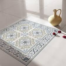 Traditional Tiles Floor Tiles Floor Vinyl Tile Stickers Tile Decals Bathroom Tile Decal Kitchen Tile Decal 212 Vanill Co