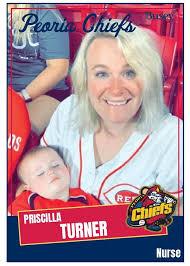 Peoria Chiefs - Thank you to Nurse Priscilla Turner for... | Facebook