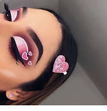 heart amazing makeup inspiring las