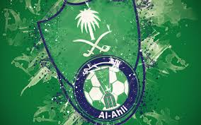 تحميل خلفيات الأهلي السعودي نادي 4k الطلاء الفن شعار الإبداعية
