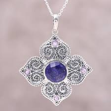 sterling silver lapis lazuli and