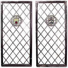 pair of english renaissance style large