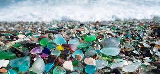 most extraordinary beach sea glass