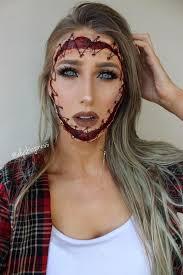 scary halloween makeup ideas to kiss
