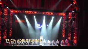 """Tricia Adele-Turner   Killer Queen Highlights   """"We Will Rock You"""" (London)    28th October 2010 - YouTube"""