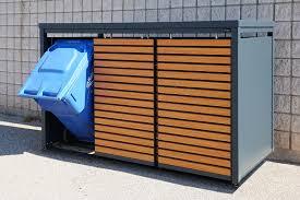 Commercial Waste Bin Enclosures Outdoor Kulture