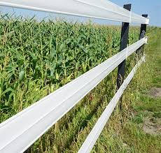 Recycled Plastic Fencing For Animal And Equine Applications
