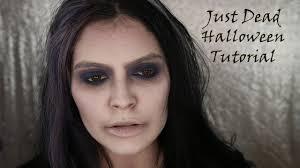 just dead halloween makeup tutorial