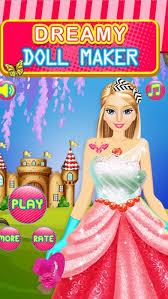 dreamy fashion doll party dress up