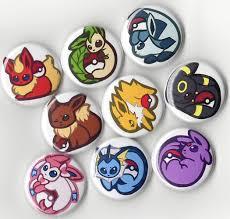 Mua Pokemon Eeveelution Buttons Set - 9 Piece 1