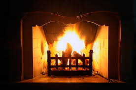 dealing with a musty fireplace