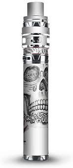 Amazon Com Skin Decal Vinyl Wrap For Smok Stick Prince Kit Tfv12 Prince Vape Kit Skins Stickers Cover Roses In Skull
