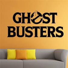 Ghostbusters Wall Decal Cartoon Comics Hero Vinyl Sticker Art Home Mural Decor Home Decor Room Decals D291 Wall Stickers Aliexpress