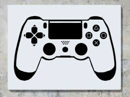 Playstation 4 Controller Ps4 Gamepad Wall Art Decal Sticker Picture Poster Ebay