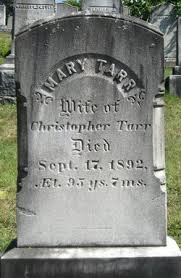 """Mary """"Polly"""" Murphy Tarr (1797-1892) - Find A Grave Memorial"""