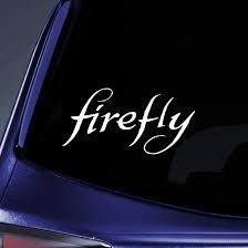 Amazon Com Bargain Max Decals Serenity Firefly Sticker Decal Notebook Car Laptop 8 White Automotive