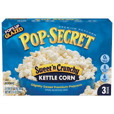 pop secret microwave popcorn sweet n