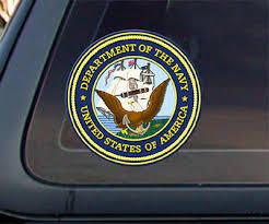 Usnd U S United States Department Of Navy Seal Car Decal Sticker 4 Ebay