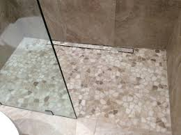 new stone shower floor seal or not to