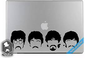 Amazon Com Music Inspired 4 Beatle Heads Vinyl Decal Sticker For Apple Macbook Dell Hp Alienware Asus Acer Or Any Laptop Notebook Pc Computer Home Kitchen