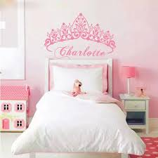 T07033 Eco Friendly Baby Girl Crown Wall Sticker Custom Name Decals Wall Sticker Kids Room Girls Bedroom Wall Art Decoration Y200103 Reusable Wall Decals Reusable Wall Stickers From Shanye10 8 72 Dhgate Com